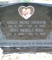 ASHLEY NICOLE  SNEDEKER's Memorial