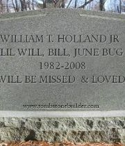 William  Holland Jr's Memorial