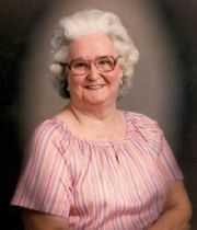 Betty Jo  McAnally's Memorial