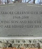 CARROL  GILLENWATER's Memorial