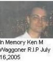 kenneth  waggoner's Memorial