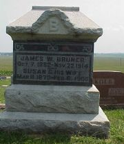James Wesley  Bruner's Memorial