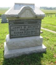 Susan Genevie  Bruner's Memorial