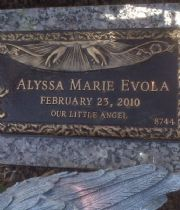 Alyssa Marie  Evola's Memorial