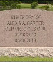 Alexis Angelique Carter's Memorial